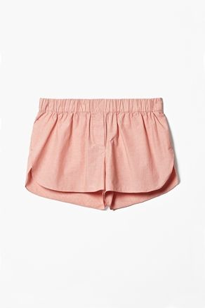 COS Striped pyjama shorts; perfect for a day at the beach