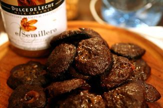 Salted Chocolate Dulce de Leche Cookie Recipe on Food52 recipe on Food52