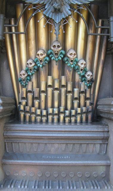 Haunted Mansion Foyer Organ Sheet Music : Best halloween pipe organ images on pinterest