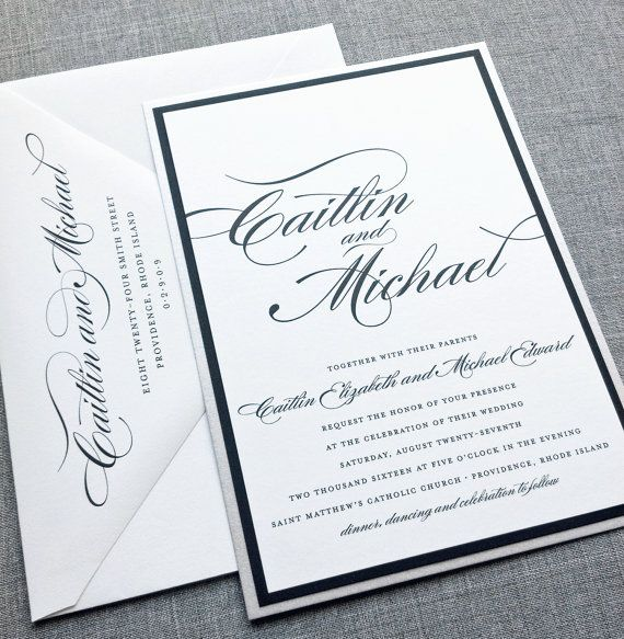 17 best Formal Invitations images on Pinterest Formal - formal business invitation