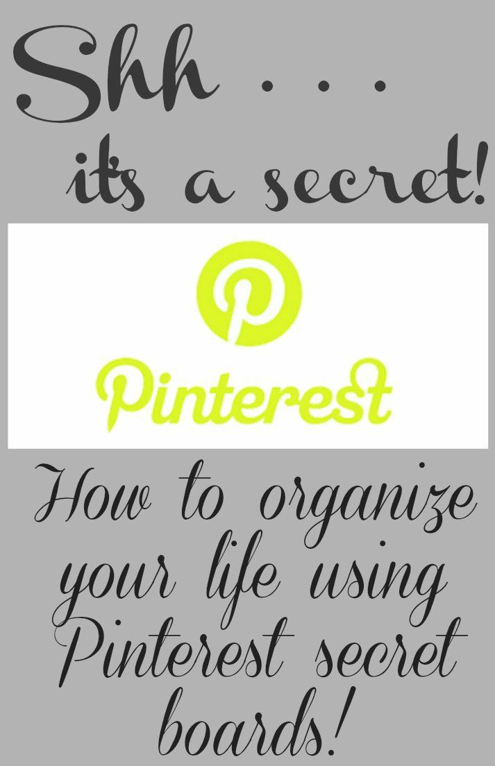 Pinterest secret boards are a great tool for planning & organizing projects. I'm sharing how I use them to keep my personal & professional life on track!