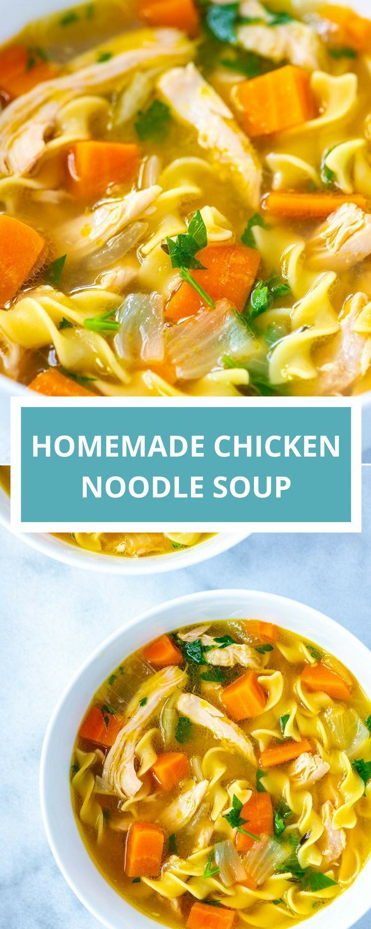 Ultra Satisfying Chicken Noodle Soup Recipe Soup Recipes Chicken Noodle Chicken Noodle Soup Recipe Homemade Chicken Noodle Soup Homemade