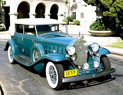 The 1930-1937 Cadillac Twelve was known for its elegant body style and smooth, even power.