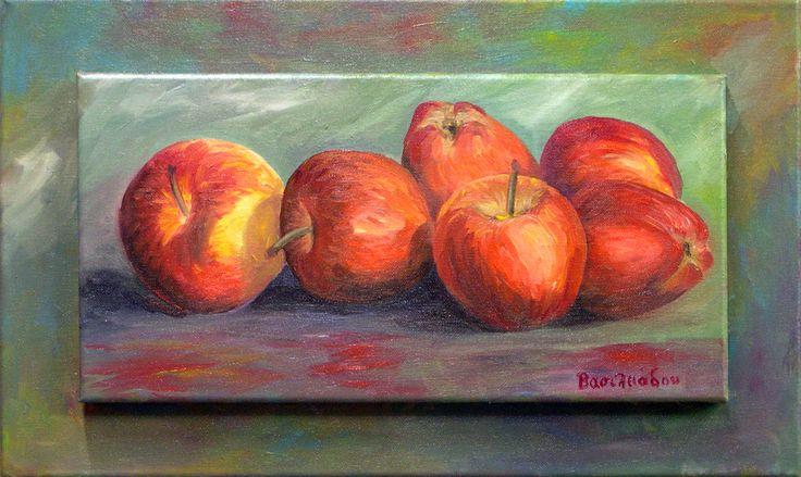 Νεκρή Φύση με Μήλα