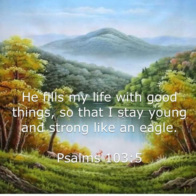 Stay Strong Like An Eagle. Amen...Mildred Williams