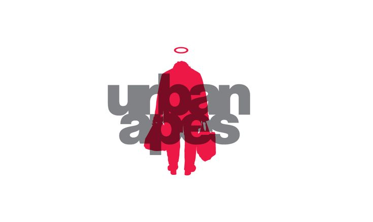 Urban Apes Logo, designed for a web boutique for t-shirts.