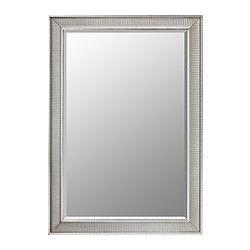 IKEA - SONGE, Peili, , Erikoiskäsittelyllä aikaansaadut kulumisen ja käytön merkit antavat peilille vintage-ilmeen.Voidaan ripustaa vaaka- tai pystysuoraan.Suojakalvo pienentää loukkaantumisriskiä, jos peili rikkoontuu.