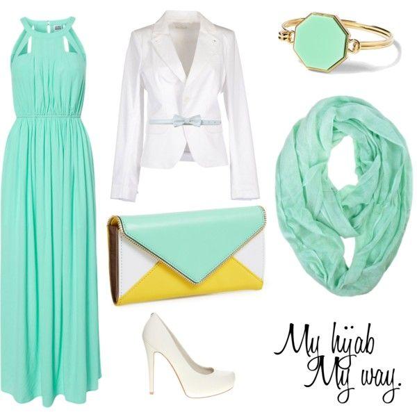 """Muslimah fashion 5"" by lai-la on Polyvore"