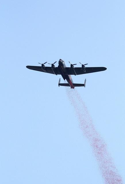 BBMF Lancaster by skippys 999 site, via Flickr