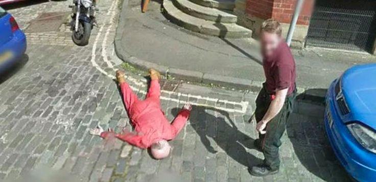Szukał adresu za pomocą popularnej aplikacji google. Wyglądało na to, że odkrył morderstwo!