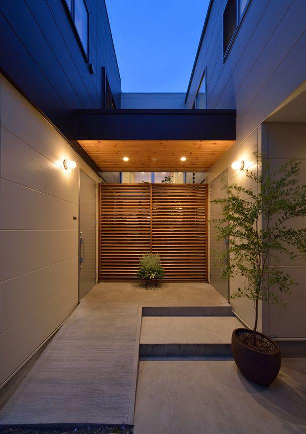 中庭が美しい家・間取り(東京都杉並区) |高級住宅・豪邸 | 注文住宅なら建築設計事務所 フリーダムアーキテクツデザイン