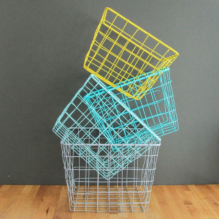 The 123 best Baskets/Storage images on Pinterest | Basket storage ...