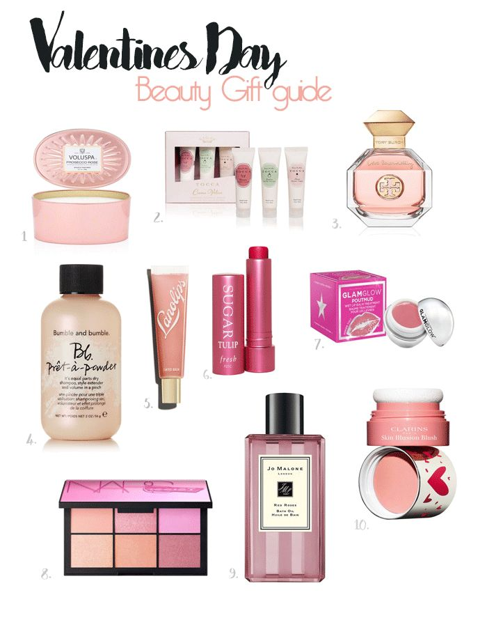 All things Pink ~ Valentines Day Beauty Gift Guide
