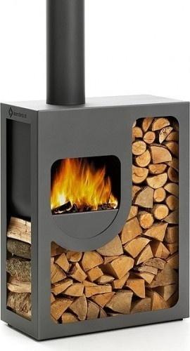"""De Harrie Leenders Spot is een compacte tuinhaard .Deze kleine alleskunner valt direct op en wordt automatisch het middelpunt van gezelligheid, vandaar de toepasselijke naam """"Spot"""".#tuinhaard#outdoor fireplace#terrashaard"""