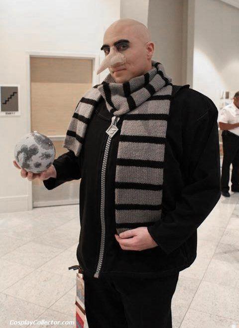 Minions Gru Kostüm selber machen | Kostüm Idee für Gruppen zu Karneval, Halloween & Fasching