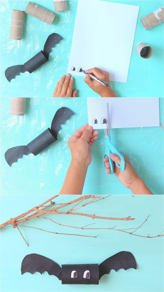 Magical Diy Halloween Bats 5 Minute Craft Halloween Bats Diy Halloween Diy Cheap Halloween Decorations