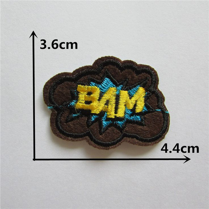 high quality cartoon patches hot melt adhesive applique embroidery patch DIY clothing accessory patch C2209-C2234