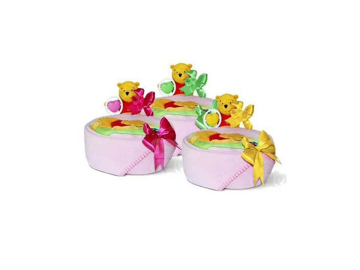 Pooh (nappy cake)