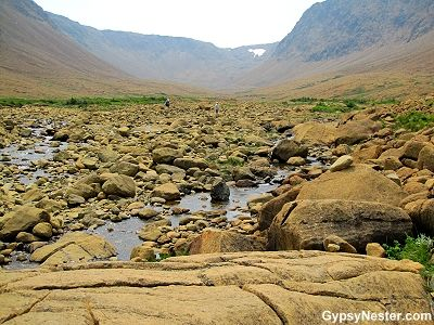 Bucket List Item: Stand on the Earth's Mantle at The Tablelands in Gros Morne National Park, Newfoundland, Canada! See more: http://www.gypsynester.com/gros-morne.htm #travel #Newfoundland #Canada