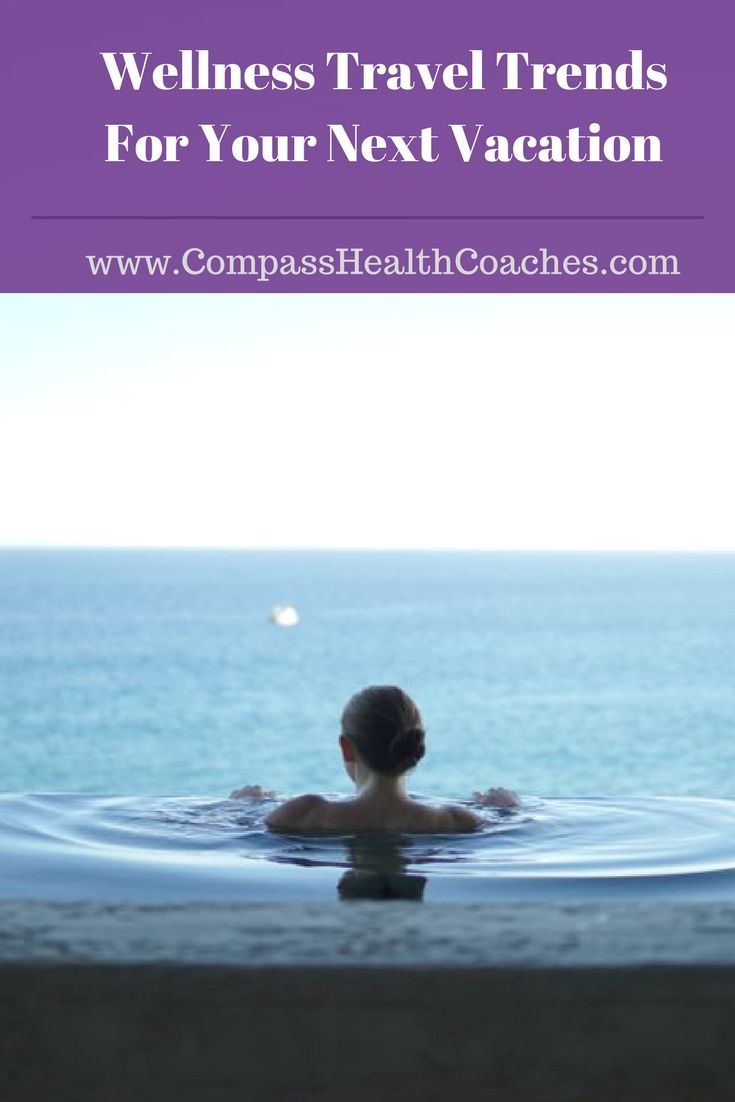 Wellness travel trends. Green and healthy travel. Green vacations. Healthy vacations