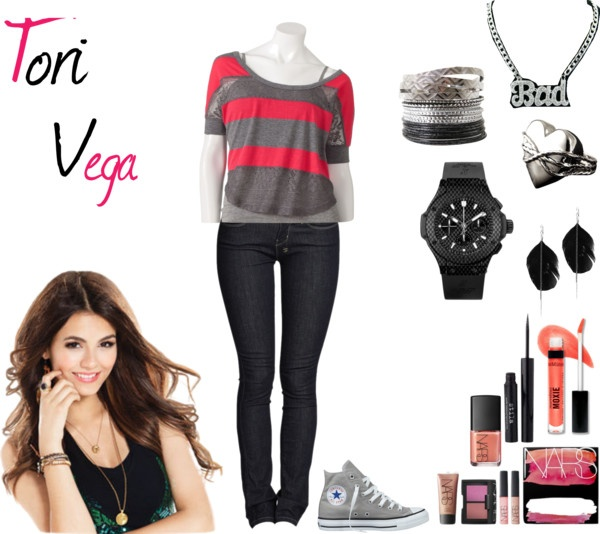 """Tori Vega"" by acucena-mesquita ❤ liked on Polyvore"