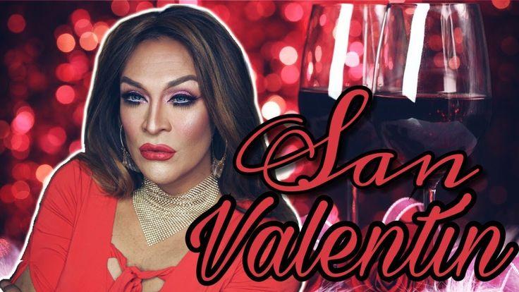 MAQUILLAJE PARA EL DIA DE SAN VALENTIN | TONOS ROSA - YouTube
