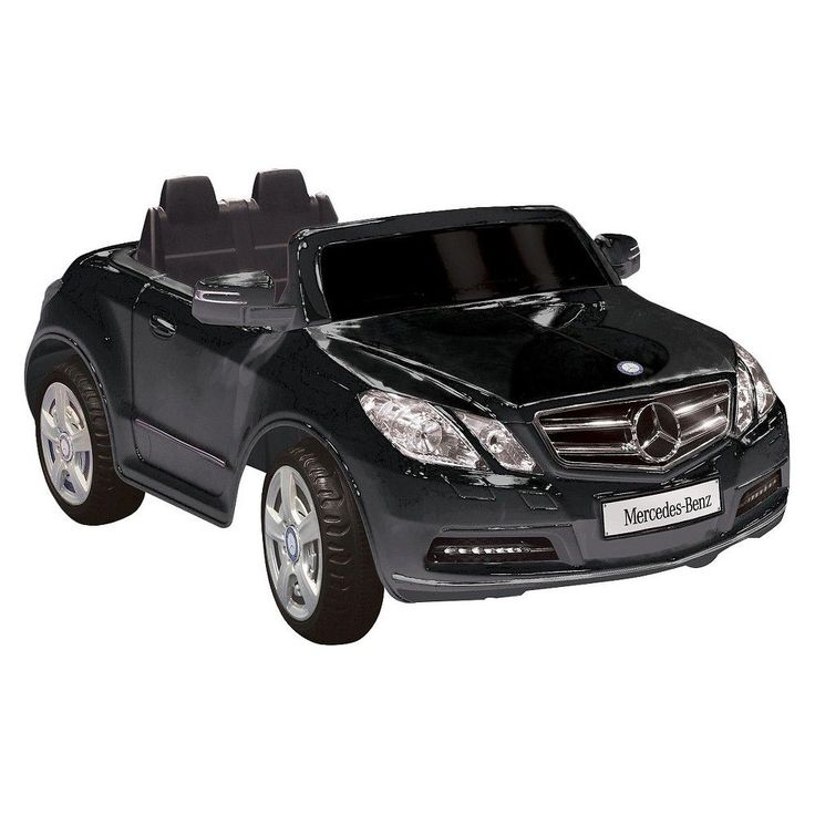 Kid Motorz Mercedes Benz 6V Ride On - Black