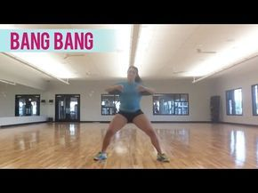(B-3 min.)--Jessie J, Ariana Grande, Nicki Minaj - Bang Bang (Dance Fitness with Jessica) - YouTube
