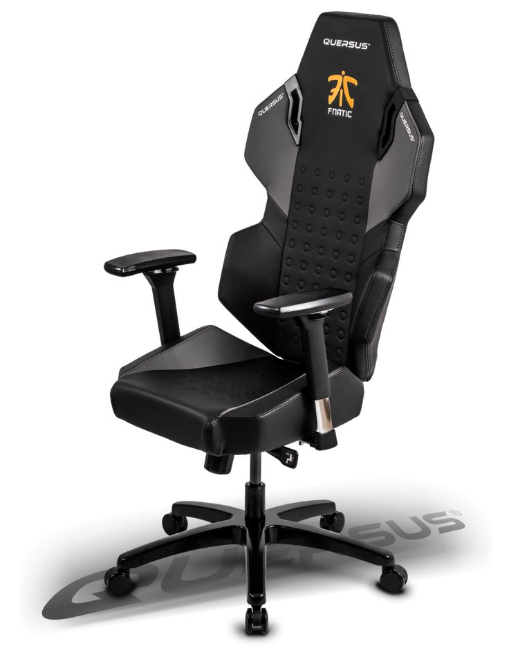 Quersus special edition chair marked with logo of one of the best esport teams in the world