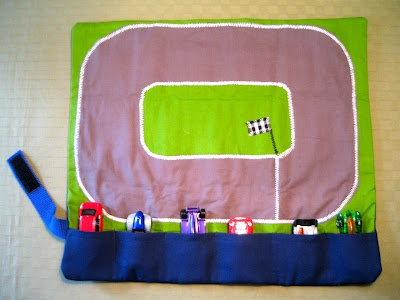 Create oh la la: DIY Car Caddy - i'm thinking Christmas gift for a little boy :)