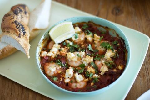 HelloFresh prawn saganaki recipe! | HelloFresh Recipes | Pinterest