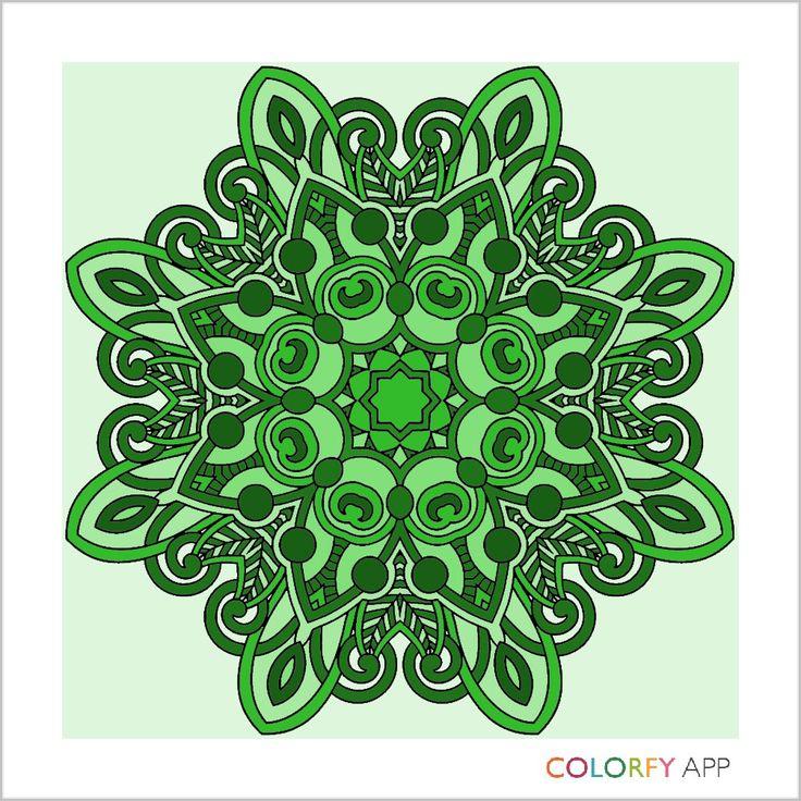 Green mandela