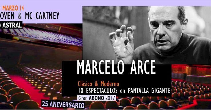 http://ift.tt/2lWwNpU http://ift.tt/2lsWRvk  El próximo 14 de marzo en el Teatro Astral se realizará la primer función de CLASICO & MODERNO 2017 el ciclo que cumple nada más ni nada menos que veinticinco años de existencia siempre conducido por MARCELO ARCE una de las figuras imprescindibles de la divulgación musical en la Argentina con cuarenta años de trayectoria y la intacta pasión por difundir y compartir la música. Mezcla de animador dinámico y apasionado con erudito verdadero…