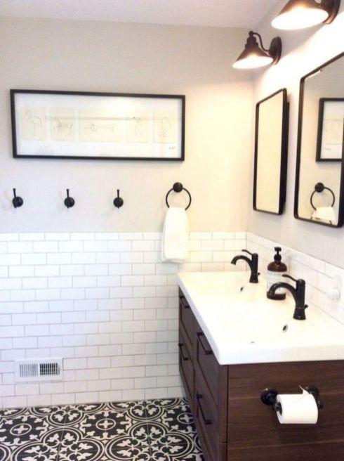 49 Modern Farmhouse Bathroom Remodel Ideas Ikea 2 Pinterest