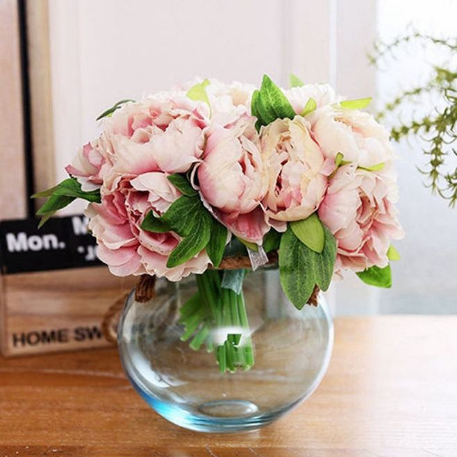 £2.49 - Stunning artificial peonies... perfect as a blog prop! eBay UK