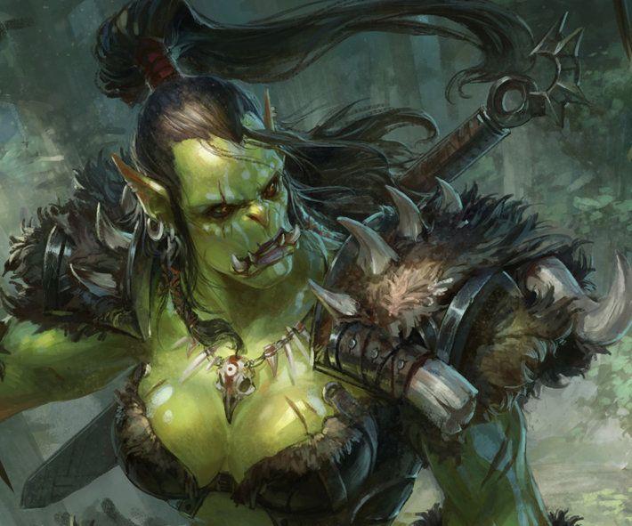 Orc, xingxing zhou on ArtStation at https://www.artstation ...