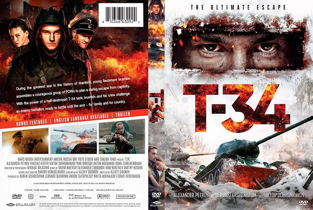 T 34 Dvd Cover
