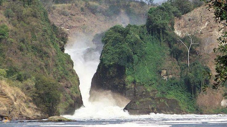 Водопад Кабарега – #Уганда (#UG) Кабарега - знаменитый водопад на реке Виктория-Нил. Уганда.  ↳ http://ru.esosedi.org/UG/places/1000073988/vodopad_kabarega/