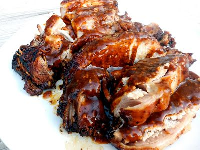 Slow Cooker Parmesan Honey Pork Roast Recipe / Six Sisters' Stuff | Six Sisters' Stuff
