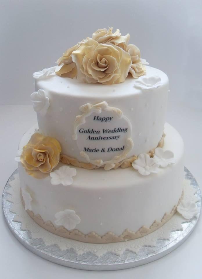 Th Bd Cake Gold Icing