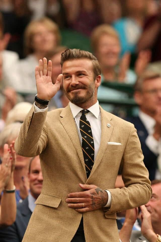 David Beckham - Wimbledon 2014