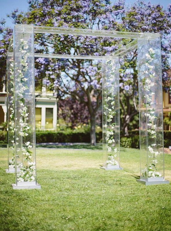 Acrylic Wedding Chuppah Gazebo For Ceremonies For Sale In Los