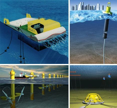 16 Hydroelectric, Wave and Tidal Power Designs | WebEcoist
