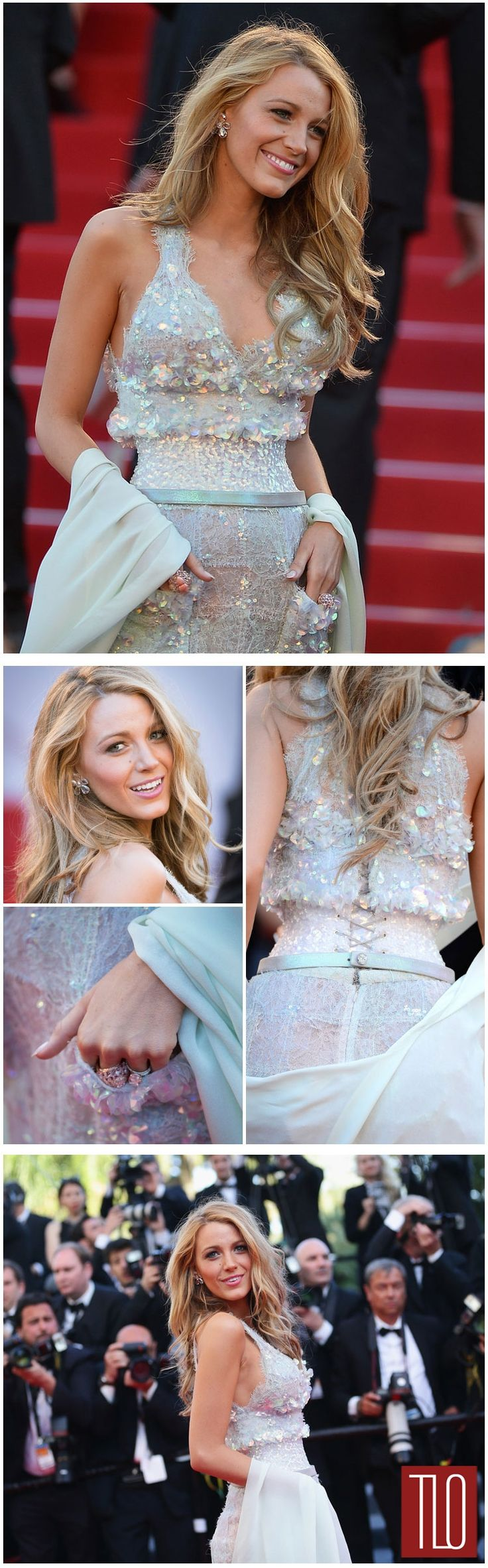 """Blake Lively in Chanel at the """"Mr. Turner"""" Cannes Premiere"""
