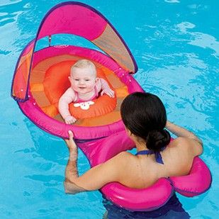 Swimways Baby Spring Float Sun Canopy - Mommy & Me