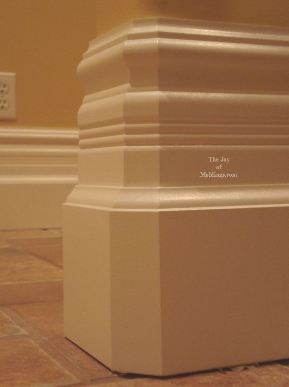 Victorian Interior Millwork How To Build BASEBOARD 103