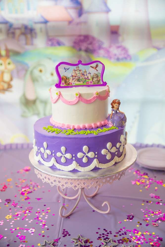 Princess Sofia The First Cupcake Toppers Printable 2 Inch Birthday Party Circles Sofia The First Birthday Party Princess Sofia Cupcakes Princess Sofia Party