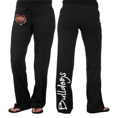adidas Mississippi State Bulldogs Ladies Black Off Balance Fleece Pants  @Fanatics ®  #FanaticsWishList