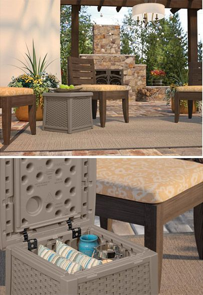 Enjoy The Long Days Of Summer With The Suncast ELEMENTS™ Outdoor Furniture  Collection.