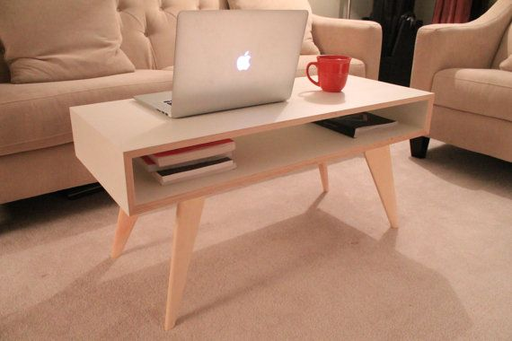 Maple and Baltic Birch Coffee Table by BlockAndPlane on Etsy